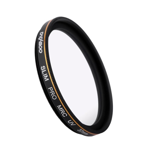 CACAGOO 37mm Pro HD Super Slim MRC UV Filter Optical Glass Waterproof Nano Multi-Coated for Canon Nikon Snoy Pentax DSLR Camera