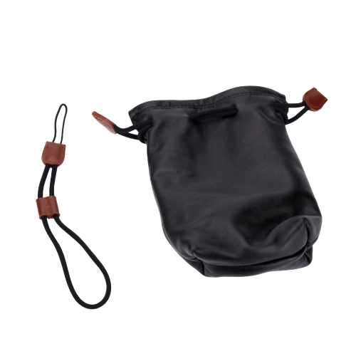 Genuine Leather Camera Case Pouch Bag Waterproof Dustproof for Sony NEX-5R 5T NEX-3N RX100‖ RX100M3 and Samsung A5000 A5100