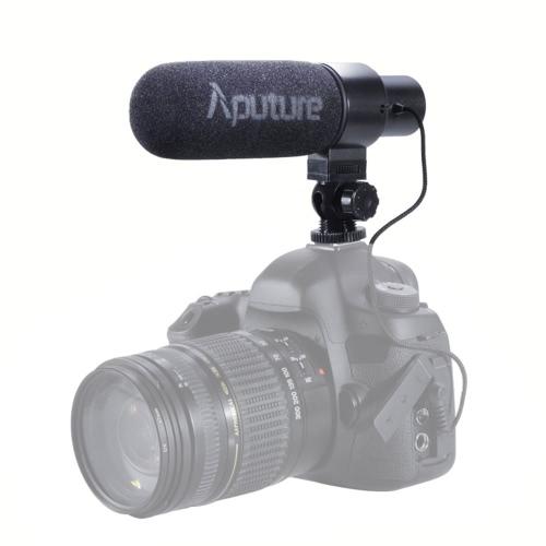 Aputure V-Mic D1 kierunkowy mikrofon pojemnościowy shotgun Canon Nikon Sony lustrzanek i kamer