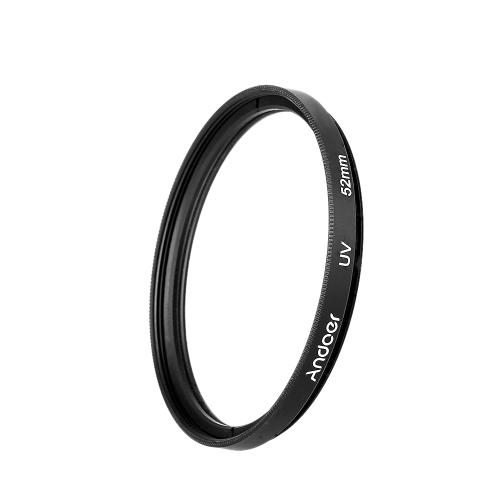 Andoer 52mm UV+CPL+ND8 Circular Filter Kit Circular Polarizer Filter ND8 Neutral Density Filter with Bag for Nikon Canon Pentax Sony DSLR Camera