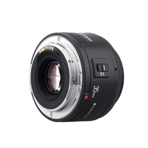 Objectif Yongnuo YN35mm F2 d'occasion Objectif mise au point automatique grand-angle 1: 2 AF / MF pour appareil photo Canon EF à monture EOS