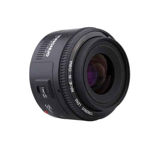 YONGNUO YN35mm F2 lente 1:2 AF / MF angular fija/primer Auto Focus lente para cámara montura EOS de Canon EF