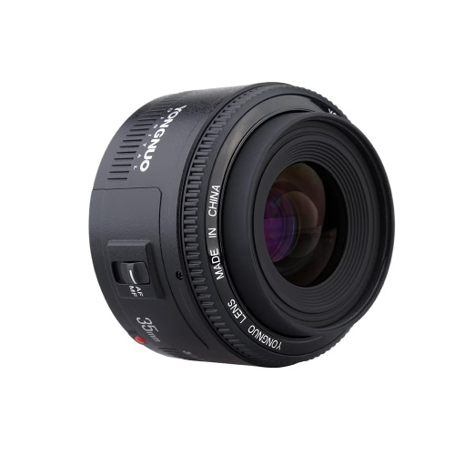 F2 YONGNUO YN35mm lente 1:2 AF / MF grande angular fixa/Prime Auto foco lente para Canon EF Mount EOS Camera