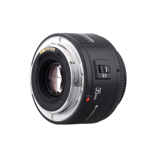 Yongnuo YN35mm F2 Objectif grand angle fixe Auto Focus Lens pour Canon EF Mont EOS