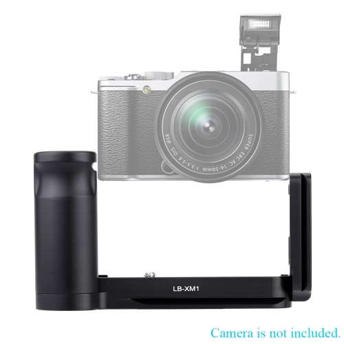 LB-XM1 L-Shaped Plate Metal pionie Uchwyt Quick Release Camera i uchwyty do Fuji XM1 Camera