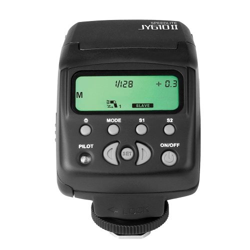 Viltrox JY-610 II Univeral On-camera Mini Flash Speedlite for Nikon D3300 D5300 D7100 Canon 5D Mark II III DSLR Cameras