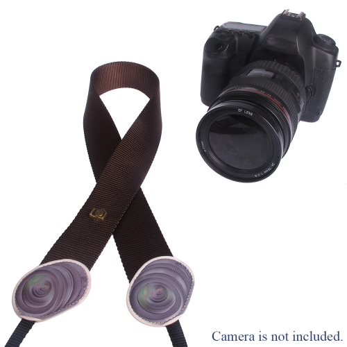 LYNCA Osobowość Series Uniwersalny aparat na ramię Pasek na szyję pasek do lustrzanki DSLR Canon Nikon Olympus Polaroid