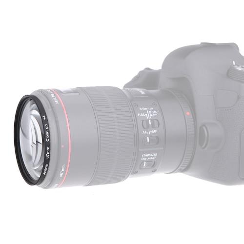 Andoer 67mm UV+CPL+Close-Up+4 +Star 8-Point Filter Circular Filter Kit Circular Polarizer Filter Macro Close-Up Star 8-Point Filter with Bag for Nikon Canon Pentax Sony DSLR Camera