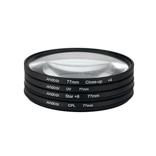 Andoer 77mm Filter Circular Filter Kit