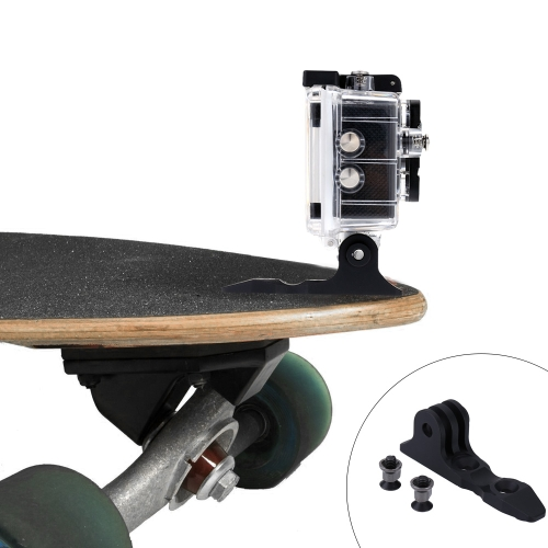 Andoer Aluminium Alloy Surfing Sailing Skis Board Sled Mount Fixed Screw Adapter Base Plate for GoPro Hero 4/3+/3/2/1 SJCAM Sport Camera