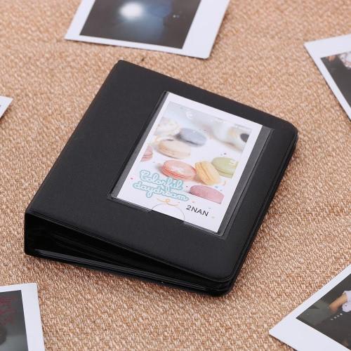 64 Kieszenie Picture Album Case zdjęcie Cukierki Kolor Mini Fuji Instax & wizytówkę 7s 8 25 50s 90 LG PD233 PD221 PD239