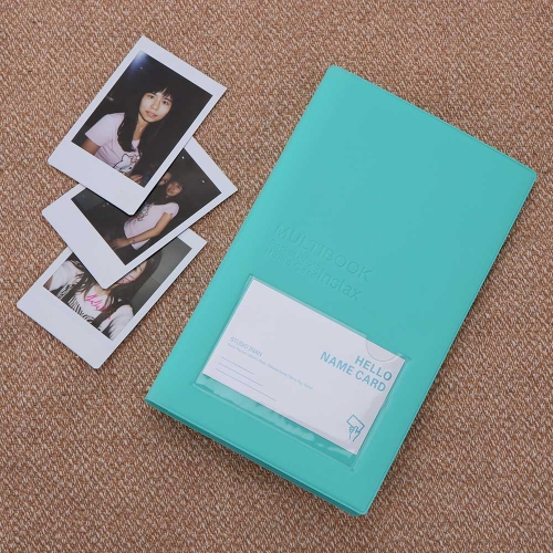 84 Pockets Camera Photo Album Holder Candy Color Book Style Album for Mini Fuji Instax & Name Card 7s 8 25 50s 90 LG PD233 PD221 PD239