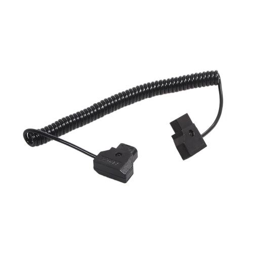 D-TAP 2 контактный разъем для мужчин удлинитель адаптер для DSLR Рог Anton Bauer батарея Dtap Dtap эластичное кабель 1 М