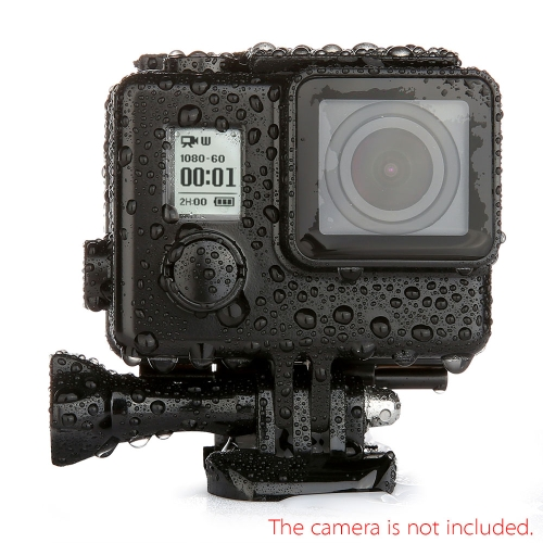 Andoer Black Waterproof Camera Housing Protector Case 30-Meter Submersible for GoPro Hero 3/3+/4