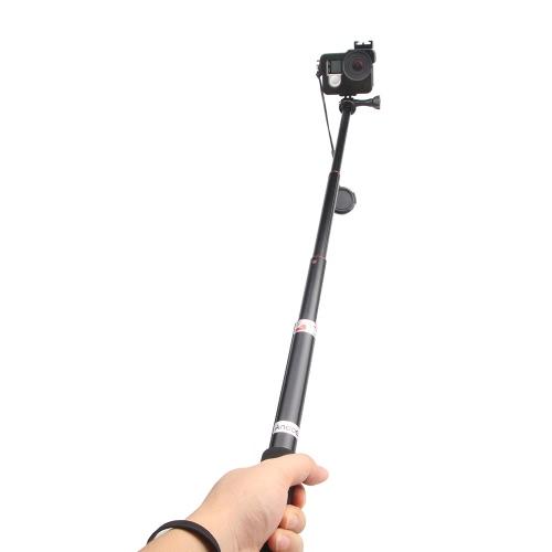 Andoer Портативный ручной монопод удлиняемым телескопические палки Selfie алюминиевого сплава для Feiyu WG стабилизатор GoPro Hero 2/3/3 +/ 4 SJCAM SJ4000 SJ5000 спорта камеры цифровой камеры смартфона