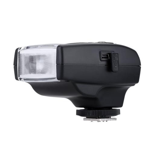 MeiKe MK-300 小型 LCDディスプレイ TTL オンカメラ スピードライト フラッシュ ライト 小型USBインタフェース付き  Canon 5D Mark III II 60Dデジタル一眼レフカメラに適用 【並行輸入品】