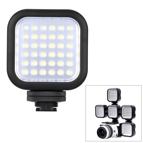 Godox LED36 Luces Luz de Vídeo LED 36 para DSLR Cámara Mini Videocámara DVR