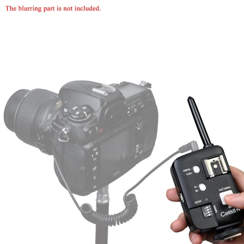 Godox CellsⅡ-N High-Speed All-in-One Transceiver Multi-Function Trigger Wireless Sync Speed 1/8000s for Nikon Camera DSLR