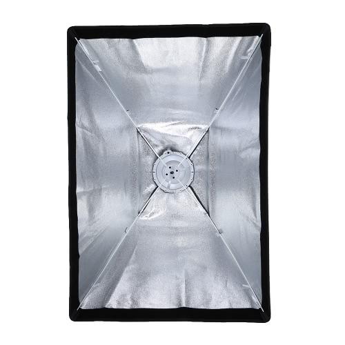 Godox SB-USA 60 * 90cm / 24 * 35in Quadrangle Parasol Softbox z Bowens Uchwyt na Studio Flash Speedlite