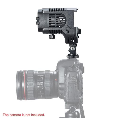 NanGuang CN - 20 ФК Светодиодные фотографии камеры видеокамеры заполнения свет видео света прожектора 3200-5600K регулируемые цвет температуры яркости фокус для Canon Nikon Pentax Olympus DSLR