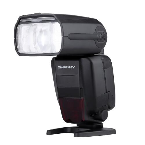 Shanny SN600EX-RF 2.4G 無線 ラジオ 1/8000s HSS GN60 マスタースレーブ スピードライトフラッシュ Canon DSLR カメラ適用