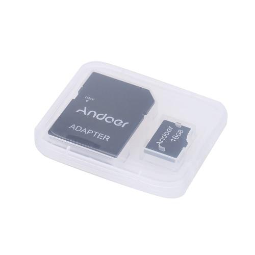 Andoer 16GB clase 10 tarjeta de memoria