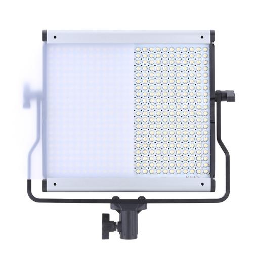 480pcs LED panel Oświetlenie przyciemniania Możliwość przyciemniania jasności Regulowana temperatura barwowa 3200K-5600K Lampa do kamery wideo kamery
