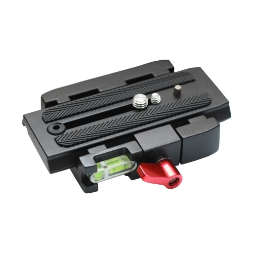 Quick Release Clamp Adapter + Quick Release Plate P200 Compatible for Manfrotto 501 500AH 701HDV 503HDV Q5