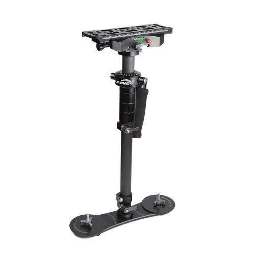 Neue LAING P-4 s Handheld Aluminium-Kohlefaser-Gimbal-Stabilisator für kompakte DSLR-Kameras