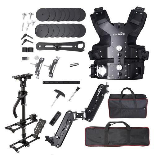 LAING M30PⅡ qualité Broadcast professionnel aluminium alliage Steadicam Kit stabilisateur de caméra vidéo charge capacité 4,5 kg - 15 kg
