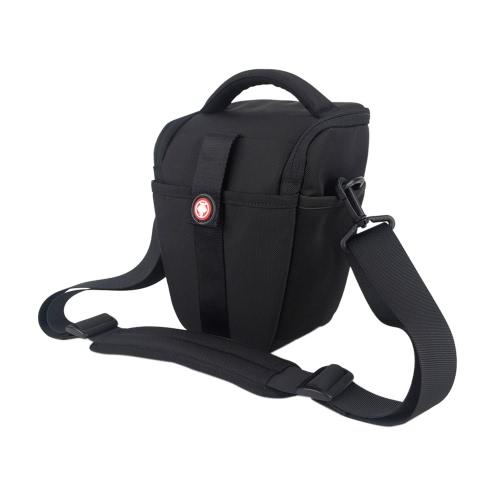 DSLR SLR Water-resistant Nylon Camera Bag Case with Shoulder Strap Belt for Canon 700D for Nikon D3200 D5300 D7100