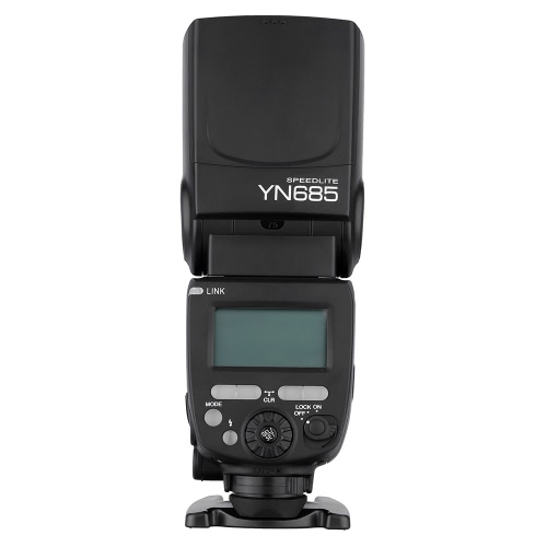 YONGNUO YN685 E-TTL HSS 1/8000s GN60 2.4G Wireless Flash Speedlite Speedlight for Canon DSLR Cameras Compatible with YONGNUO 622C/603 wireless system D3009