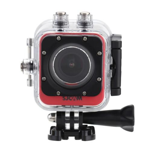 SJCAM M10 + Wifi Mini DV 2K Full HD (2560 * 1440) 1080p 60fps 12MP Novatek 96660 nurkowanie 30M Helmet Car DVR Outdoor Sports Action PC Camera Kamera z Waterproof Case