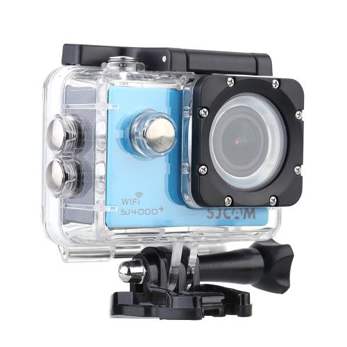 SJCAM SJ4000 + Plus Wifi 2K (2560 * 1440) 1080P 60 klatek na sekundę 12MP Novatek 96660 Wodoodporny 30-metrowy karnet Full HD Karetka samochodowa Akcja Sport Kamera cyfrowa z wodoodporną obudową