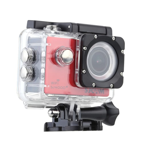 SJCAM SJ4000+ Plus Wifi 2K(2560*1440) 1080P 60fps 12MP Novatek 96660 Waterproof 30M Full HD PC Car Helmet Action Sports Camera DVR with Waterproof Case