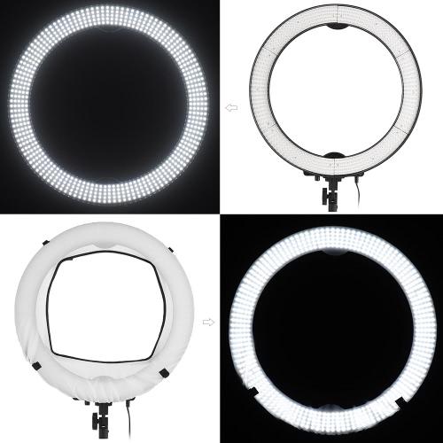 Andoer LA-650D 5500K 40W Ring Digital Photographic Studio Light