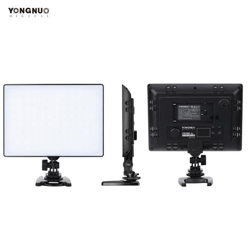 YONGNUO YN300 Aire Pro Cámara Fotografía Vídeo LED Luz Ajustable Temperatura de Color 3200K-5500K para Canon Nikon Pentax Sony Olympus