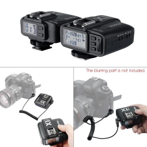GODOX X1C TTL 1/8000s HSS 32チャンネル 2.4G無線 LCD フラッシュ ストロボトリガ 送信機 受信機 カメラシャッターリリース  Canon EOS カメラ適用 Godox TT685C スピードライト互換性のある