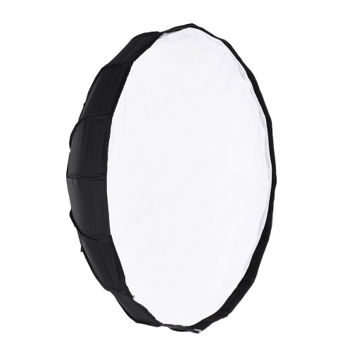Second Hand 16-Pole 60cm Folding Collapsible Beauty Dish Softbox with Honeycomb Grid Bowens Mount for Studio Strobe Flash Light