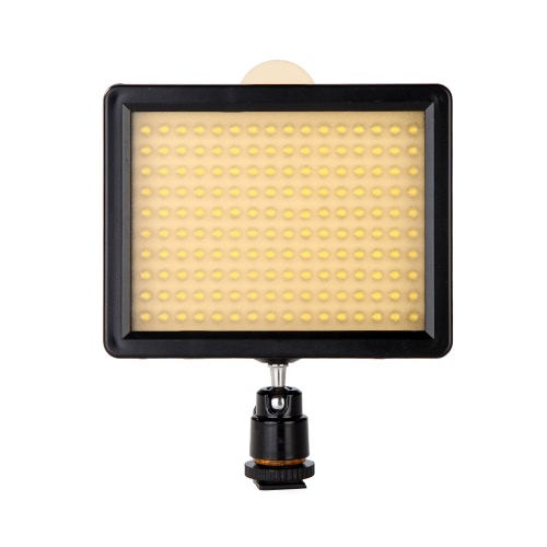 Andoer 160 Led Video Light Lamp Panel 12w 1280lm Dimmable For Canon Nikon Pentax Dslr Camera Video Camcorder Andoer Com