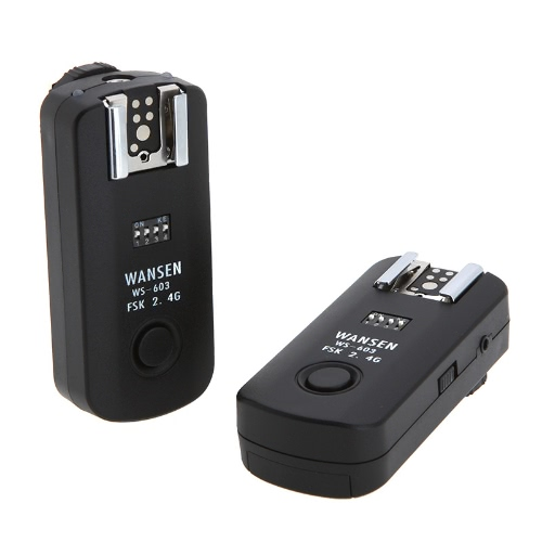 2.4Ghz 16 Channels Wireless Flash Trigger Transceiver for Canon