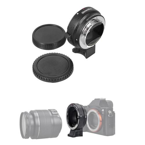 Auto Focus EF-NEX EF-EMOUNT FX Lens Mount Adapter for Canon EF EF-S ...