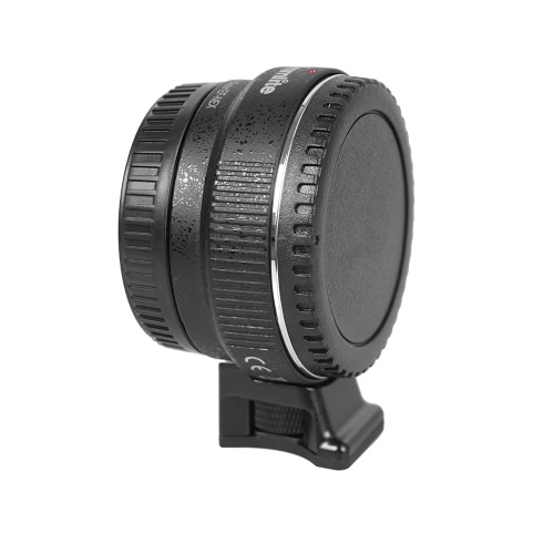 Autofokus EF-NEX EF-EMOUNT FX Mocowanie obiektywu EF Adapter Canon EF-S Lens do Sony NEX E Górze 3 / 3N / 5N / 5R / 7 / A7 A7R AR7II Full Frame Czarny