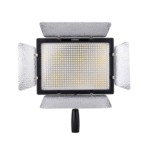 Yongnuo YN-600L 600LED Studio Video Light Lamp Color Temperature Adjustable for Canon Nikon Camcorder DSLR + Power Adapter Remote