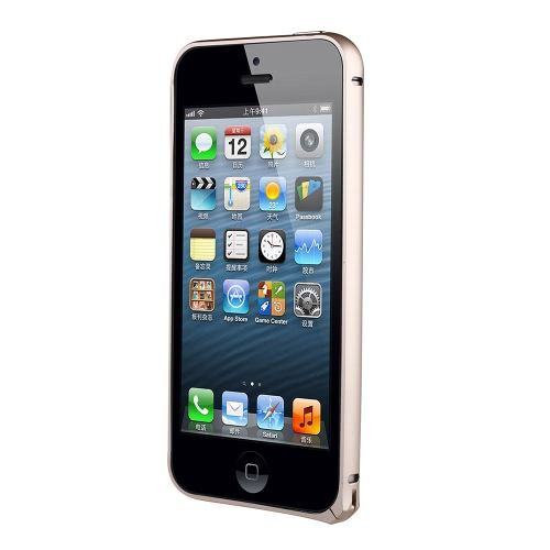 dodocool Ultrathin Lightweight Metal alumínio pára-choques Frame Shell Case protetor capa para iPhone 5 5S