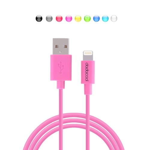 Dodocool MFI Certified 8 Pin Lightning USB Data Sync Cable de carregamento