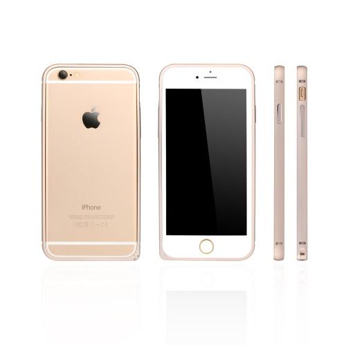 dodocool ultra-mince léger métal aluminium pare-chocs Frame Shell protection Housse étui pour l'iPhone 6 4,7 ''
