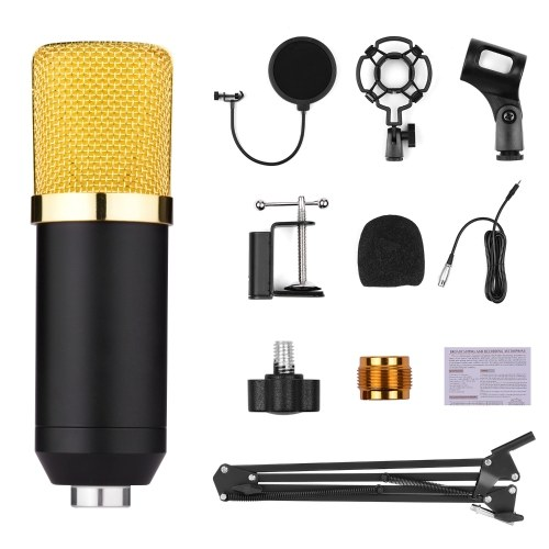 Professional Broadcasting Studio Recording Condenser Microphone Kit