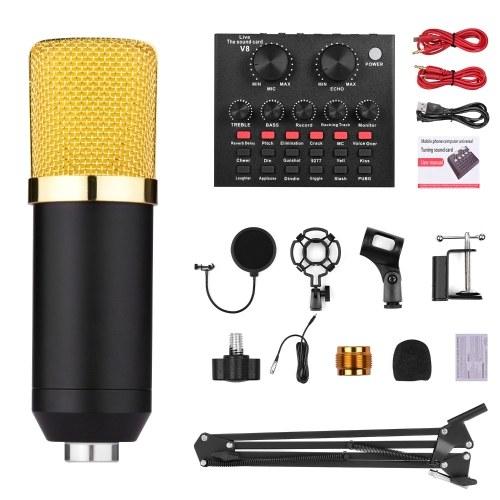 Professional Broadcasting Studio Recording Condenser Microphone Kit