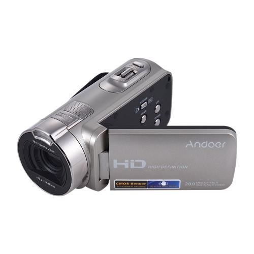 Cámara de video digital Full HD Andoer HDV-312P 1080P